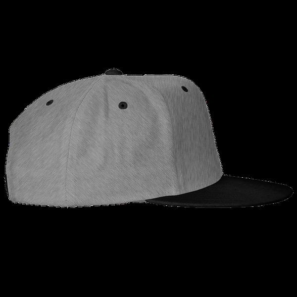 gray blue black color with pewdiepie smash logo snapback hat 8386 - PewDiePie Merch