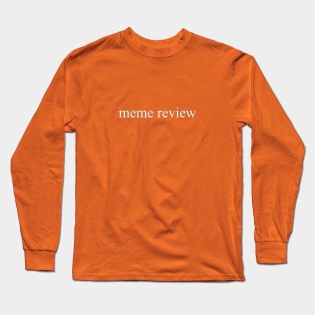 meme review long sleeve t shirt black 2601 - PewDiePie Merch