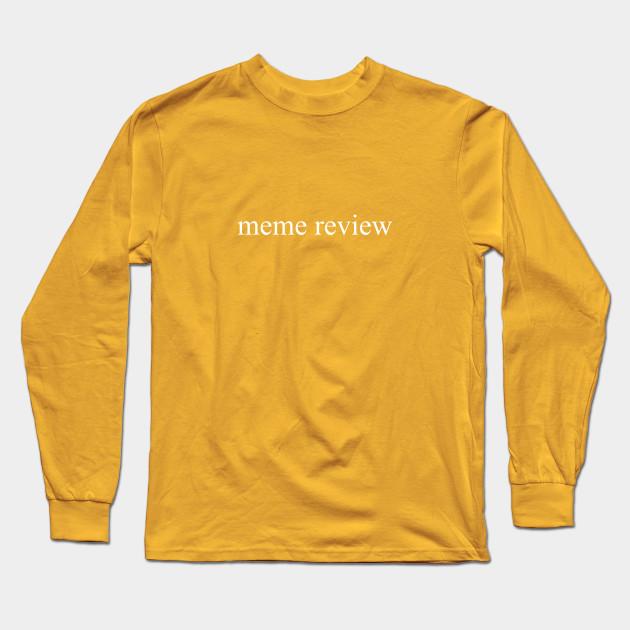meme review long sleeve t shirt black 3359 - PewDiePie Merch