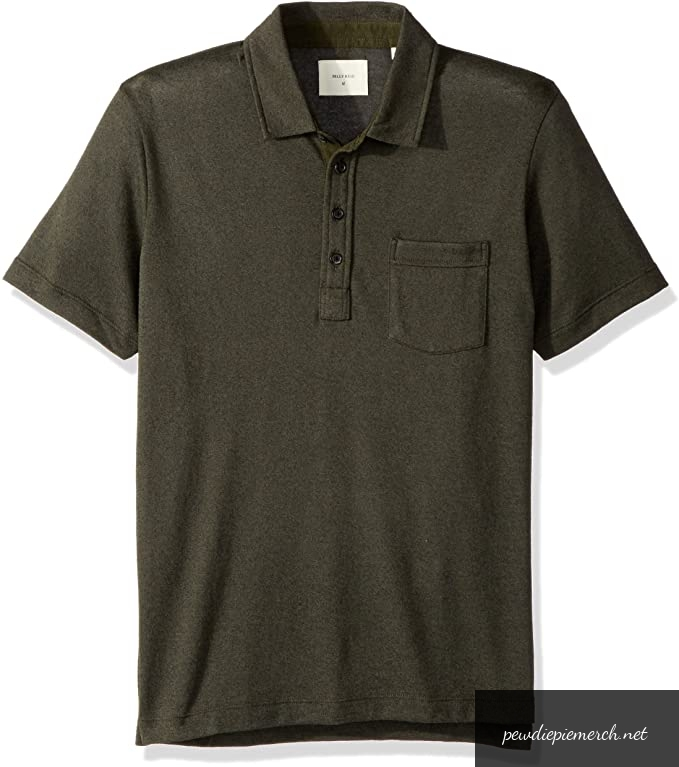 mens short sleeve smith polo 4891 - PewDiePie Merch