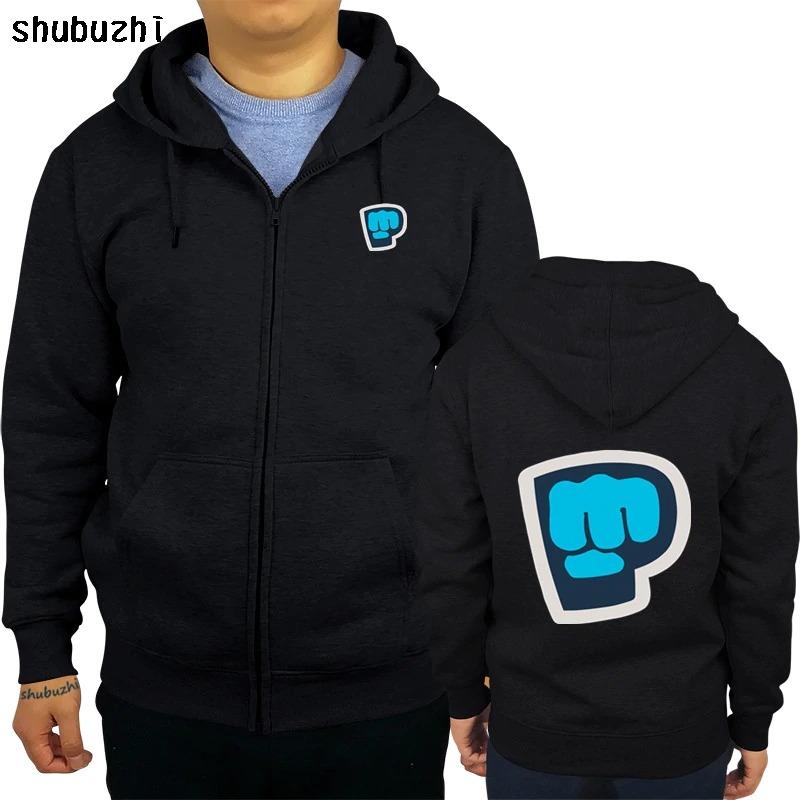 new pewdiepie symbol famous vlogger mens black hoodie 4796 - PewDiePie Merch