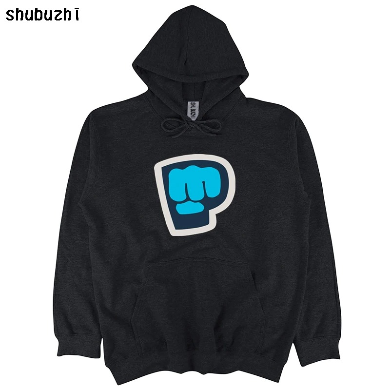 new pewdiepie symbol famous vlogger mens black hoodie 7293 - PewDiePie Merch