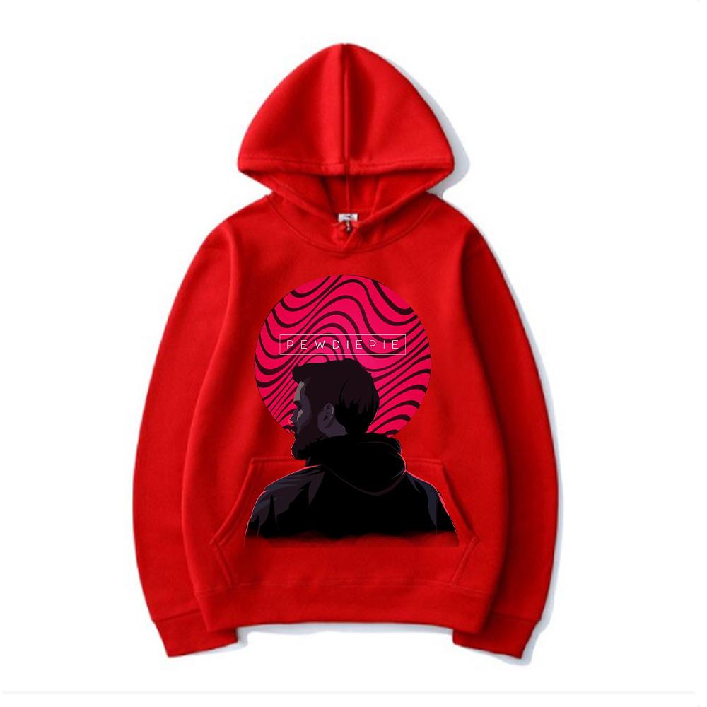 pewdiepie 3d print design hoodie mens womens cotton printing sweatshirt 3503 - PewDiePie Merch