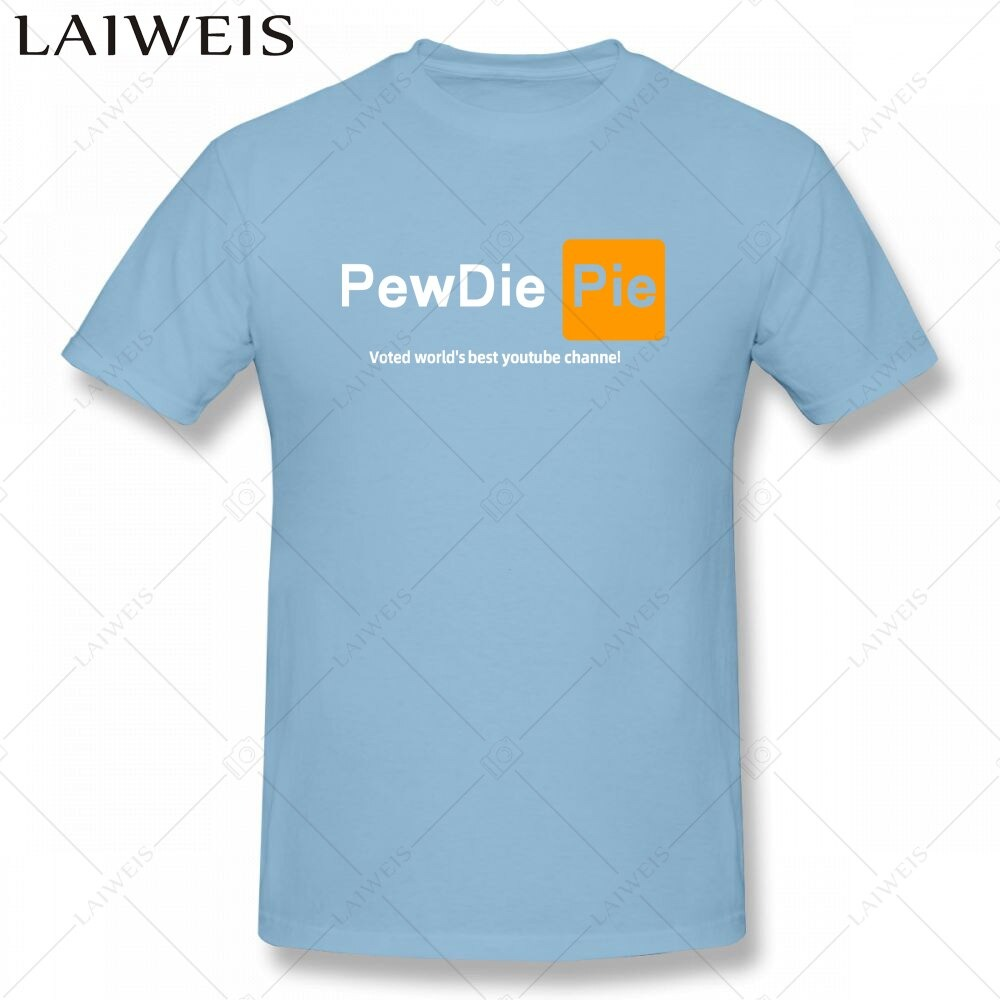 pewdiepie  youtuber mens  t shirt new fashion mens short sleeve t shirt cotton 2568 - PewDiePie Merch