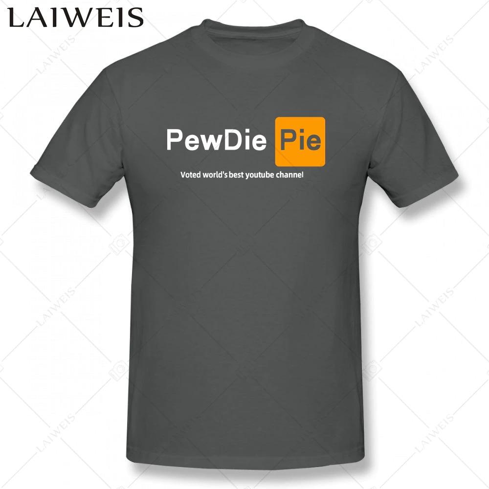 pewdiepie  youtuber mens  t shirt new fashion mens short sleeve t shirt cotton 6293 - PewDiePie Merch