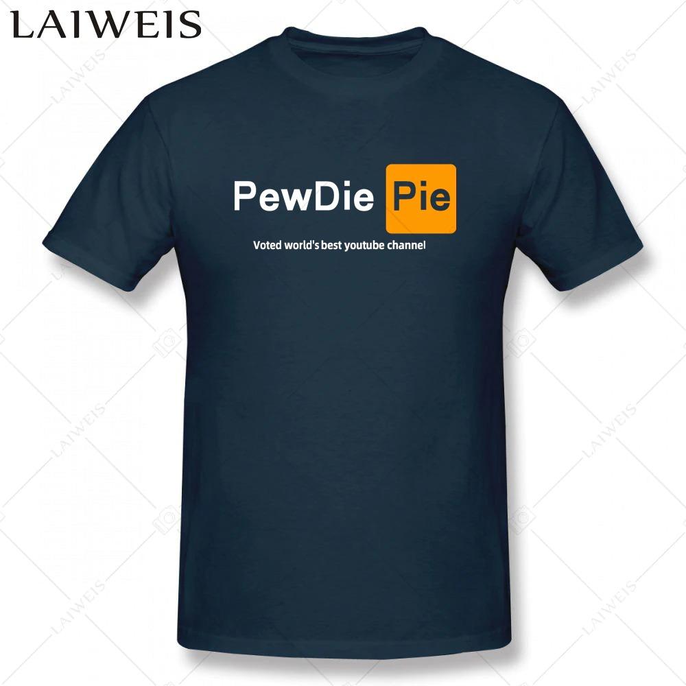 pewdiepie  youtuber mens  t shirt new fashion mens short sleeve t shirt cotton 7335 - PewDiePie Merch