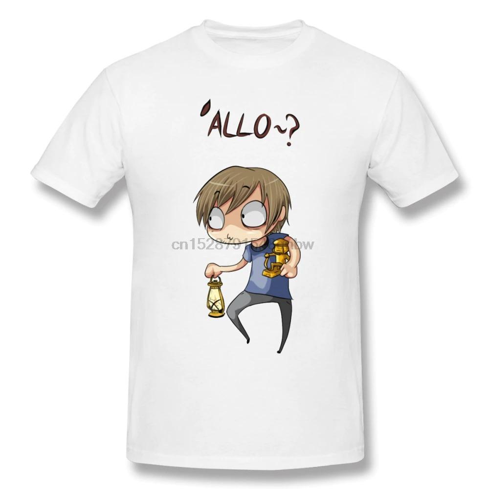 pewdiepie allo t shirt men short sleeve 100 cotton plus size graphic cute beach white tshirt 1547 - PewDiePie Merch