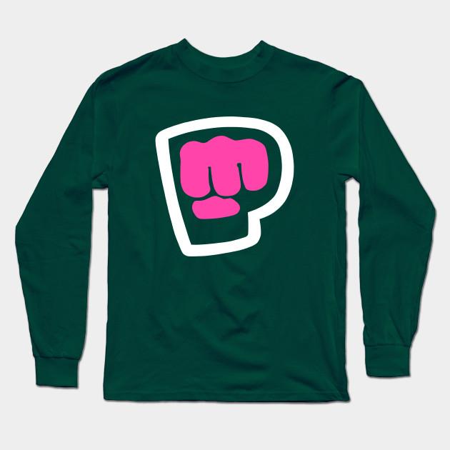 pewdiepie brofist pink long sleeve t shirt 1512 - PewDiePie Merch