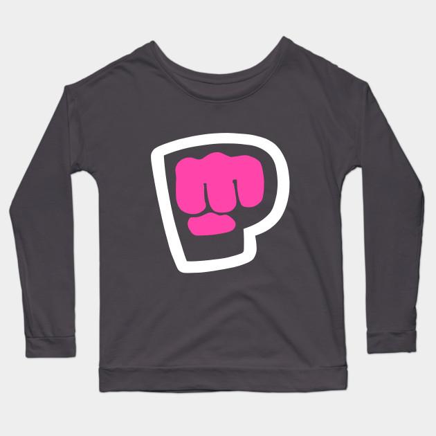 pewdiepie brofist pink long sleeve t shirt 2325 - PewDiePie Merch