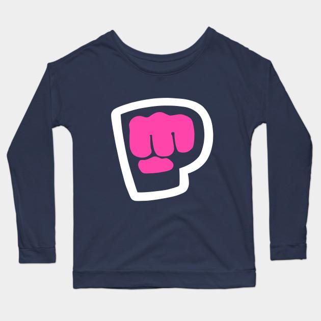 pewdiepie brofist pink long sleeve t shirt 2418 - PewDiePie Merch