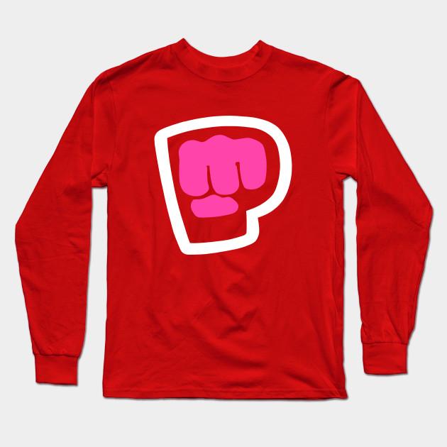 pewdiepie brofist pink long sleeve t shirt 2426 - PewDiePie Merch