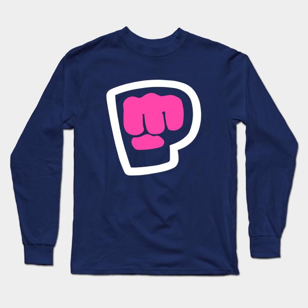 pewdiepie brofist pink long sleeve t shirt 2494 - PewDiePie Merch