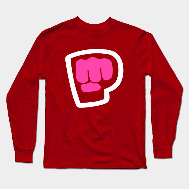 pewdiepie brofist pink long sleeve t shirt 2983 - PewDiePie Merch