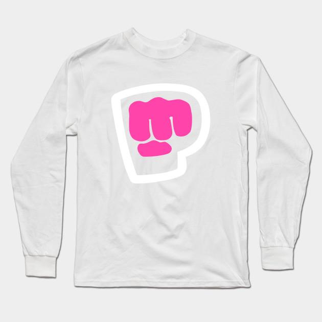pewdiepie brofist pink long sleeve t shirt 3033 - PewDiePie Merch