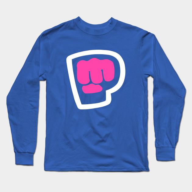 pewdiepie brofist pink long sleeve t shirt 3385 - PewDiePie Merch