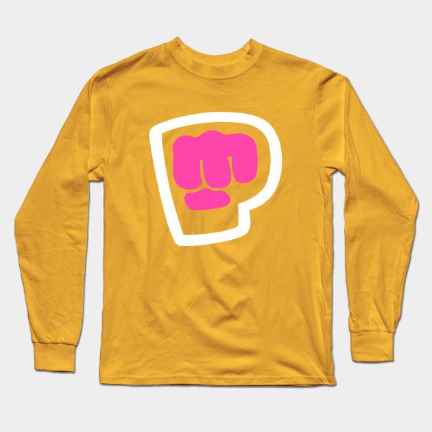 pewdiepie brofist pink long sleeve t shirt 4108 - PewDiePie Merch