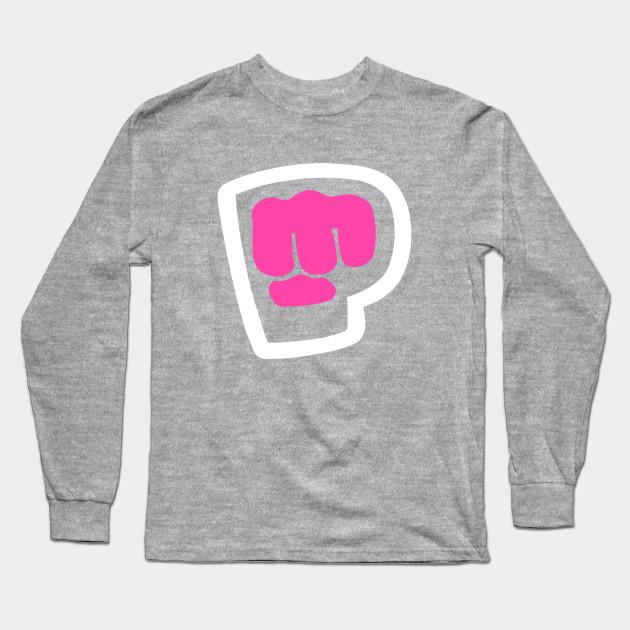 pewdiepie brofist pink long sleeve t shirt 5632 - PewDiePie Merch