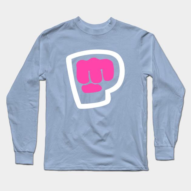 pewdiepie brofist pink long sleeve t shirt 6946 - PewDiePie Merch