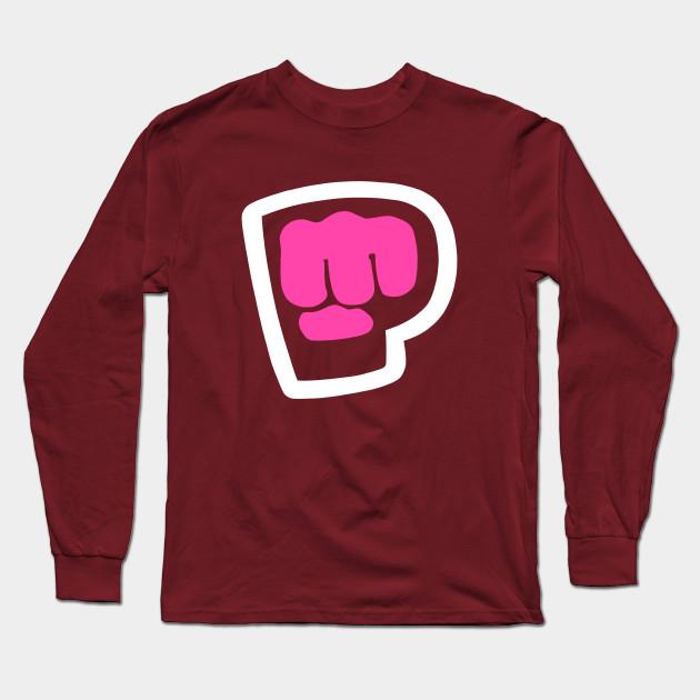 pewdiepie brofist pink long sleeve t shirt 7530 - PewDiePie Merch