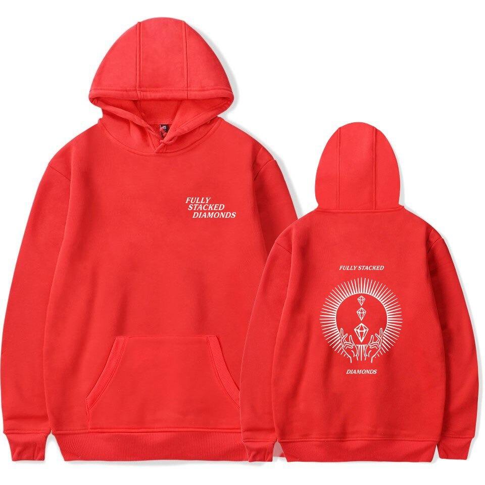 pewdiepie hoodies fully stacked diamond sweatshirt men women fashion pullover harajuku hoodies 4865 - PewDiePie Merch