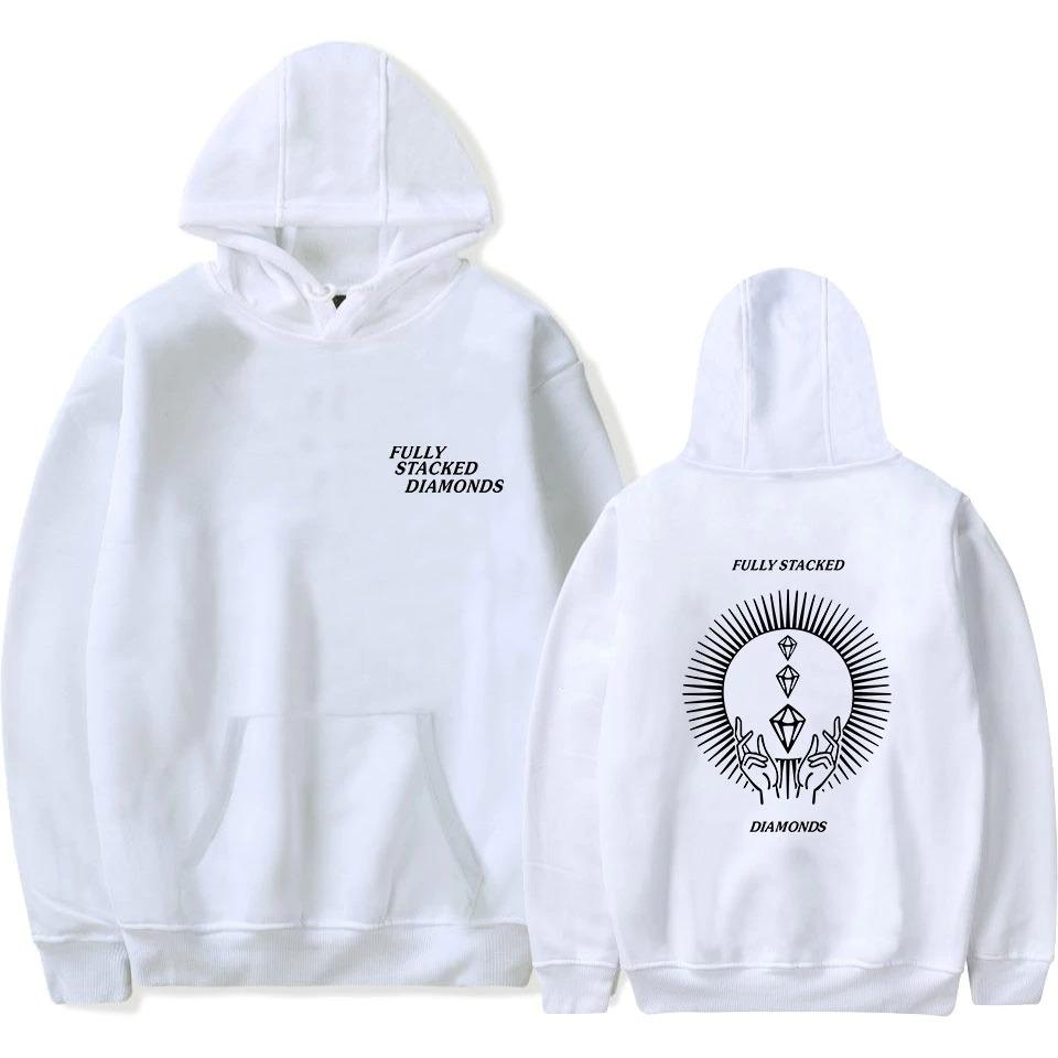 pewdiepie hoodies fully stacked diamond sweatshirt men women fashion pullover harajuku hoodies 8864 - PewDiePie Merch