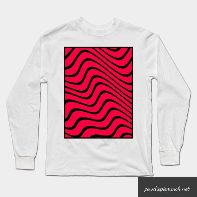 pewdiepie long sleeve t shirt 4709 - PewDiePie Merch