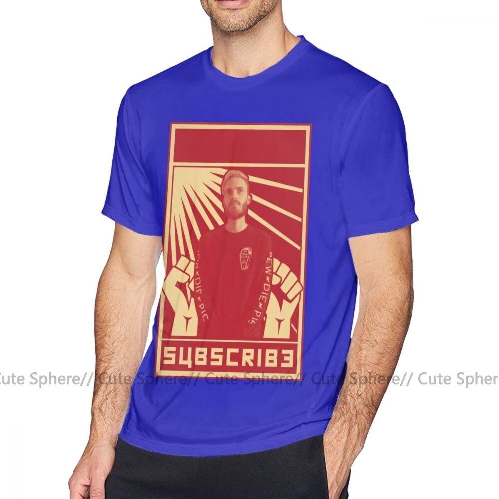 pewdiepie t shirt subscribe to pewdiepie tee shirt short sleeve cute print summer male tshirt  t - PewDiePie Merch