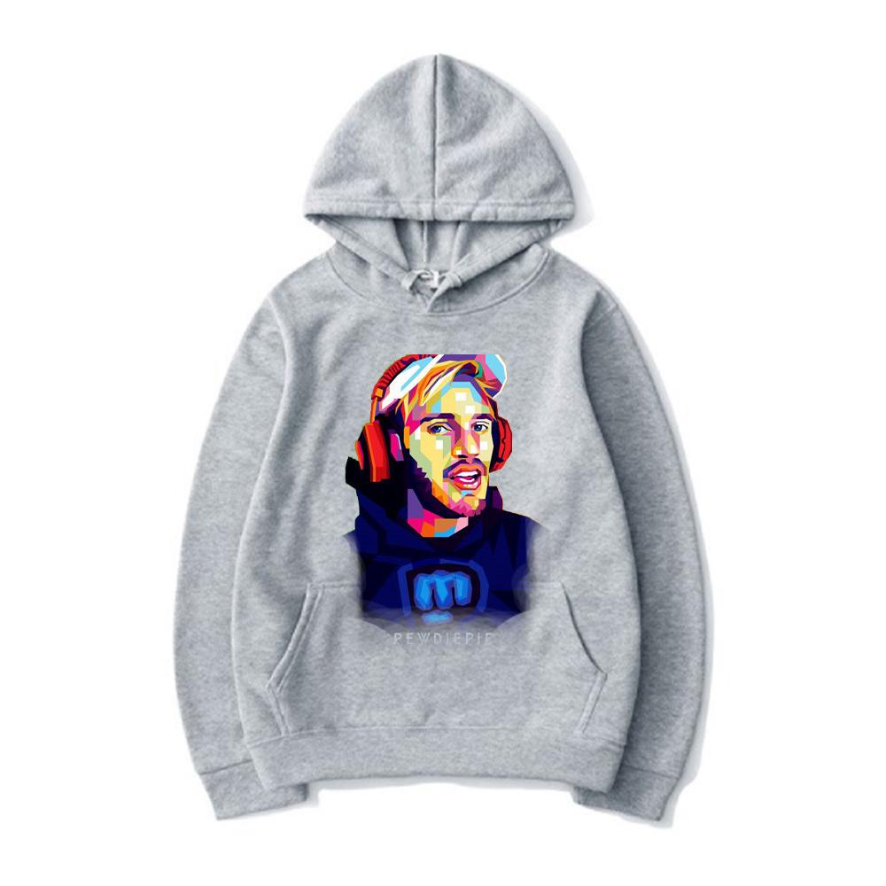 pewdiepie women and men top  brand black hoodies 8011 - PewDiePie Merch