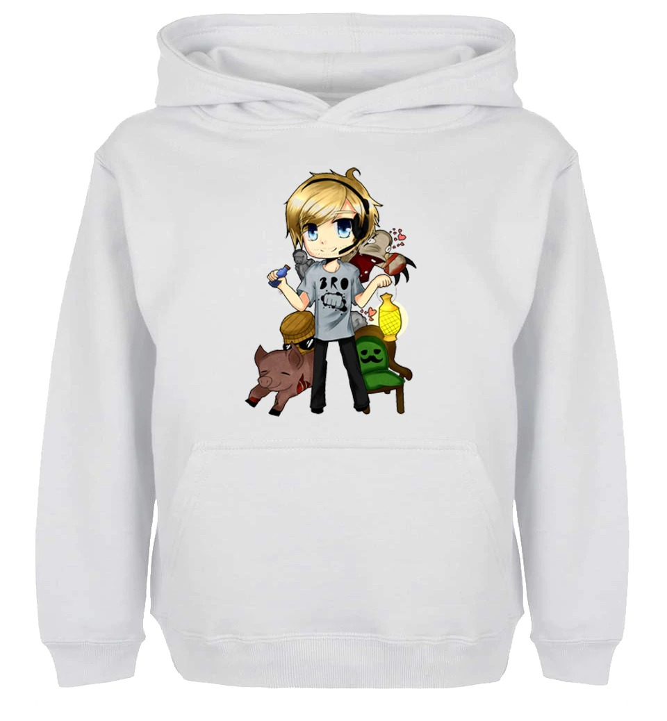 pewdipie barrel kids childrens cute cartoon design hoodie 8123 - PewDiePie Merch