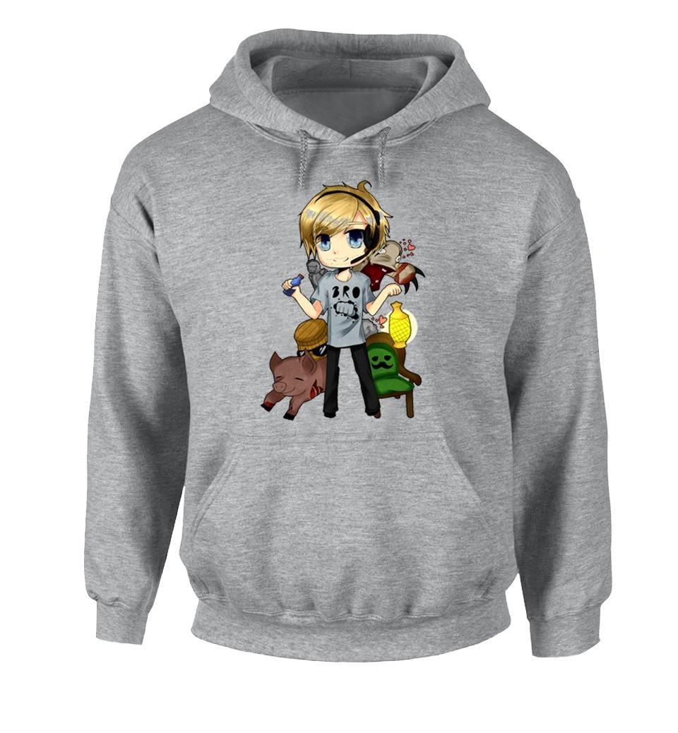 pewdipie barrel kids childrens cute cartoon design hoodie 8283 - PewDiePie Merch