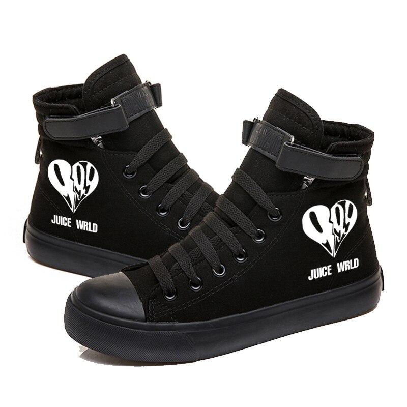 rapper hip hop sneakers canvas shoes men women 2416 - PewDiePie Merch