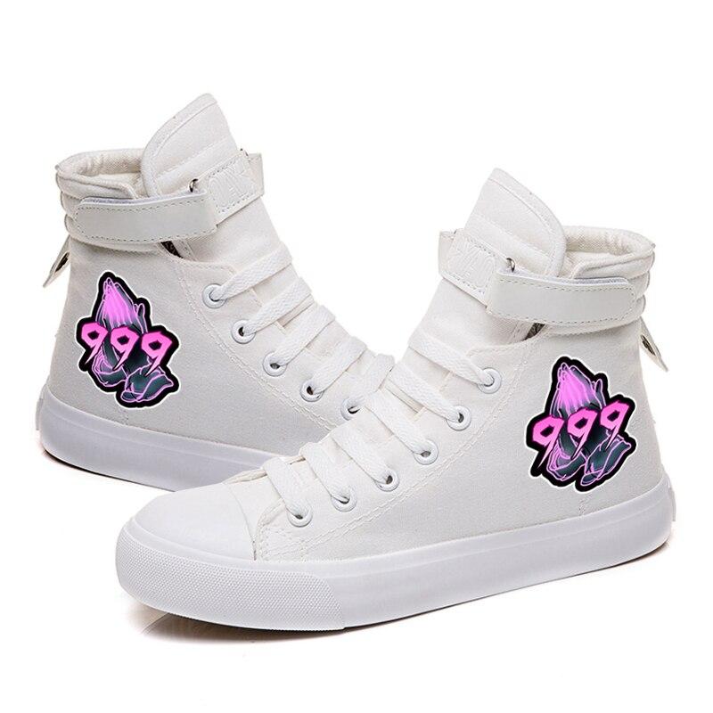 rapper hip hop sneakers canvas shoes men women 2804 - PewDiePie Merch