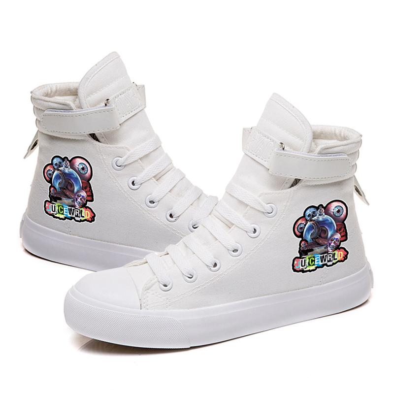 rapper hip hop sneakers canvas shoes men women 6956 - PewDiePie Merch