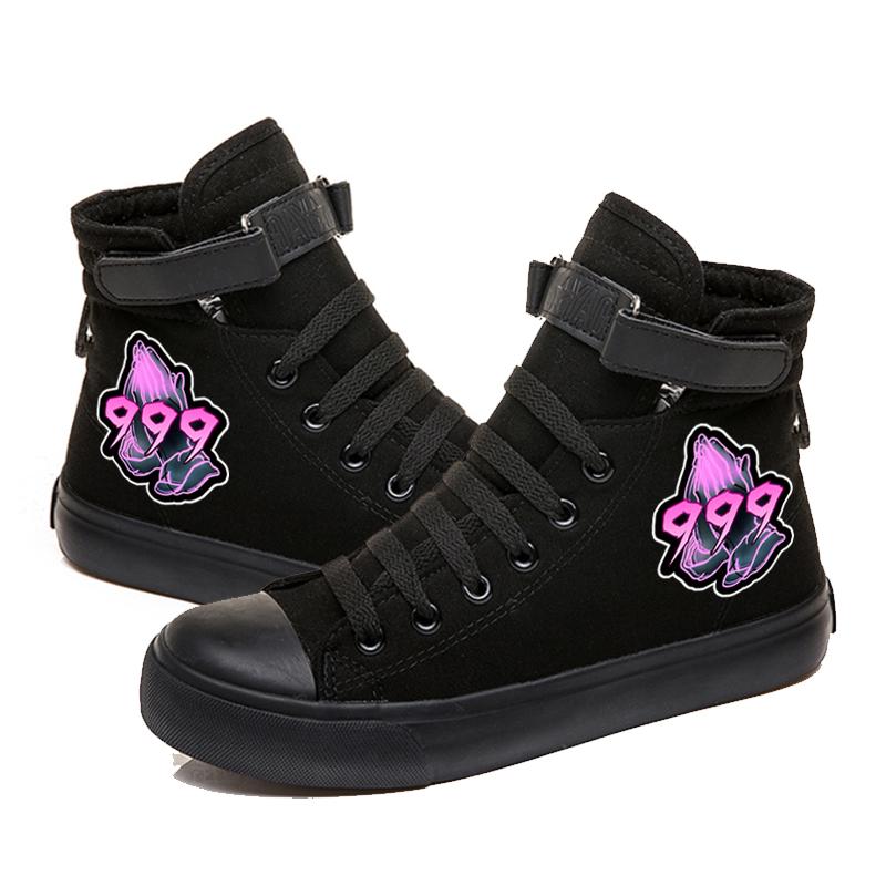 rapper hip hop sneakers canvas shoes men women 8344 - PewDiePie Merch