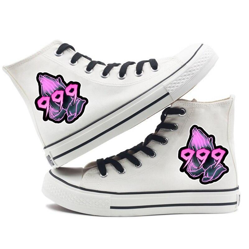 rapper women men canvas shoes sneakers hip hop 2282 - PewDiePie Merch
