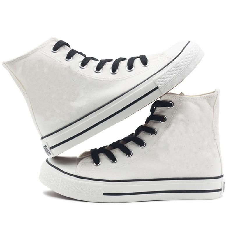 rapper women men canvas shoes sneakers hip hop 2470 - PewDiePie Merch