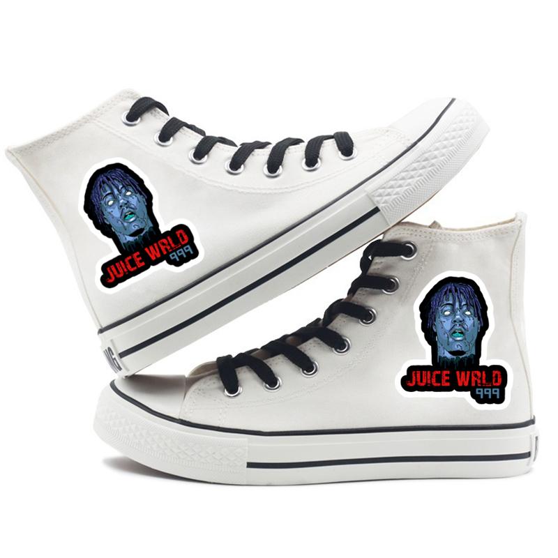 rapper women men canvas shoes sneakers hip hop 4090 - PewDiePie Merch