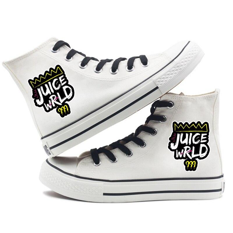 rapper women men canvas shoes sneakers hip hop 7183 - PewDiePie Merch