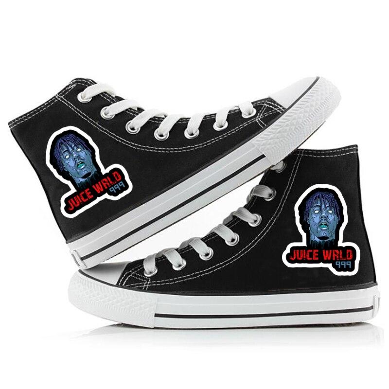 rapper women men canvas shoes sneakers hip hop 8281 - PewDiePie Merch