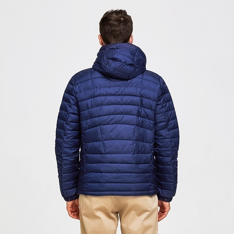 tiger force men spring jacket fashion cotton padded jackets casual coat detachable hood parka 3018 - PewDiePie Merch
