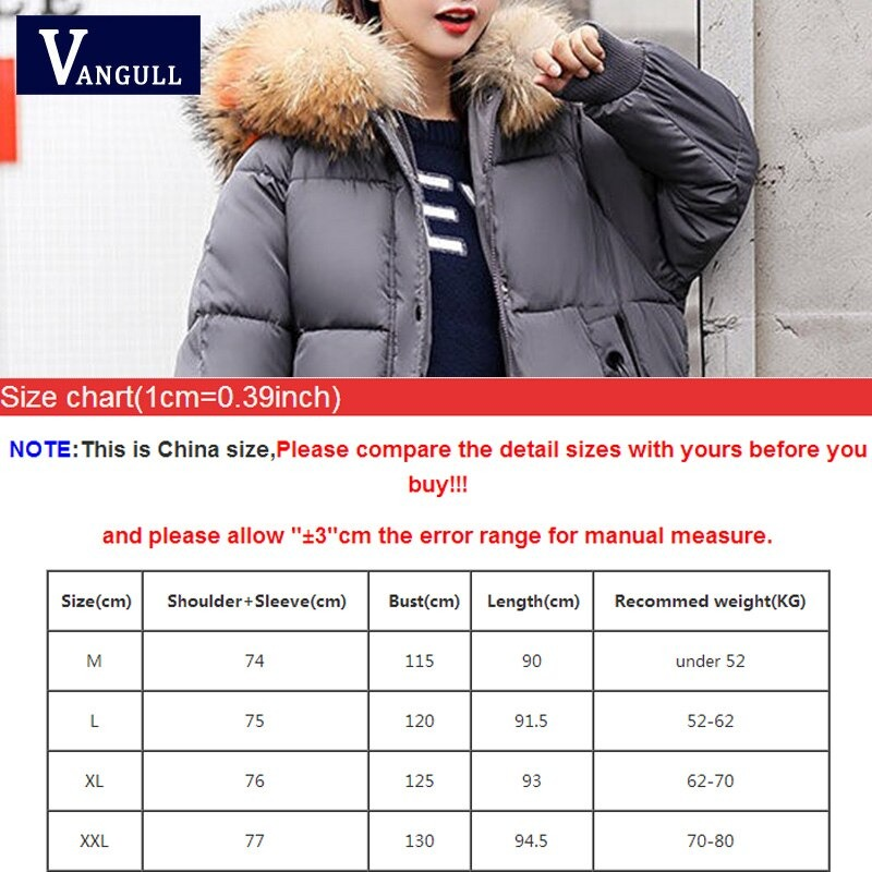 vangull loose warm winter jackets coats women hooded fur coat down parkas long cotton padded jacket 1259 - PewDiePie Merch