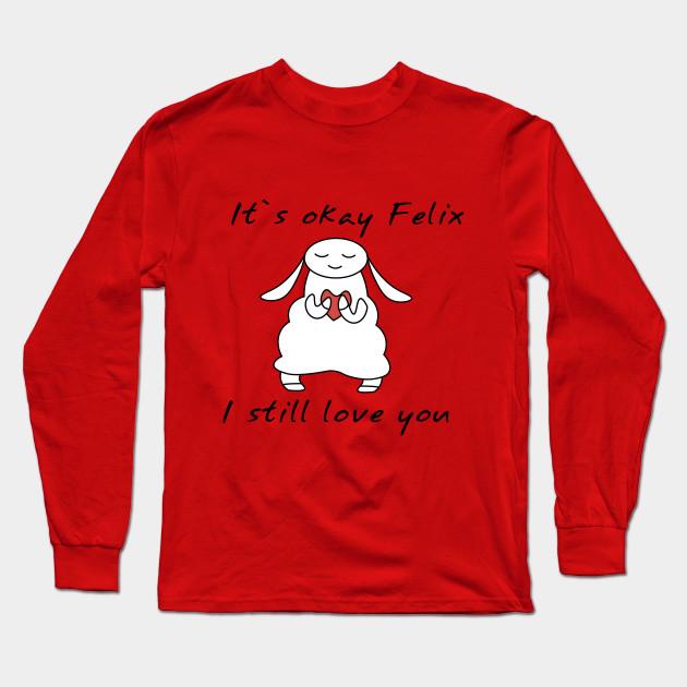 water sheep pewdiepie jeb felix long sleeve t shirt 3213 - PewDiePie Merch