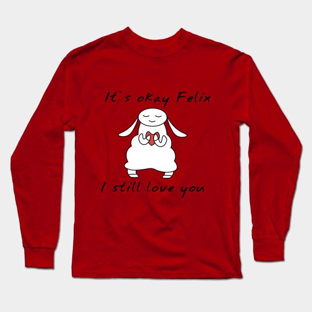 water sheep pewdiepie jeb felix long sleeve t shirt 4730 - PewDiePie Merch