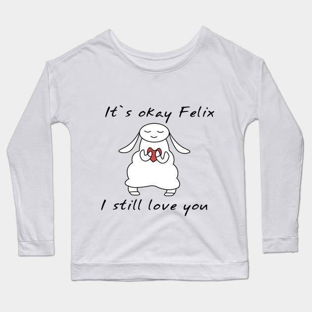 water sheep pewdiepie jeb felix long sleeve t shirt 6178 - PewDiePie Merch