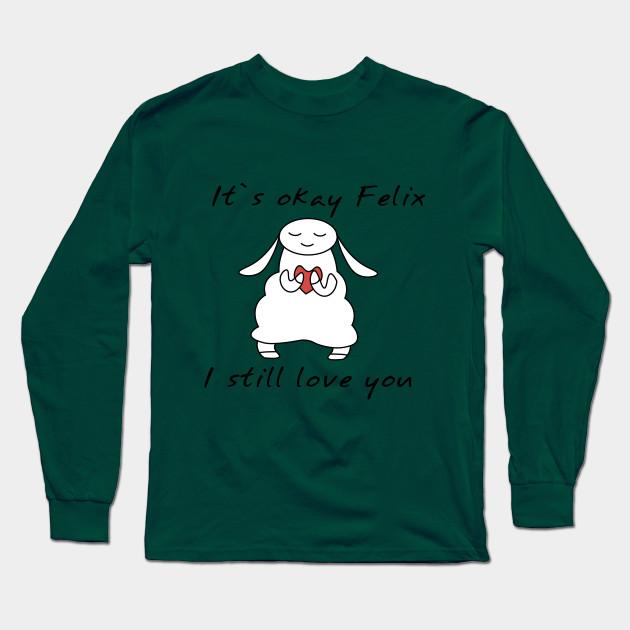 water sheep pewdiepie jeb felix long sleeve t shirt 6426 - PewDiePie Merch