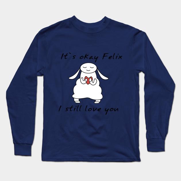 water sheep pewdiepie jeb felix long sleeve t shirt 7253 - PewDiePie Merch