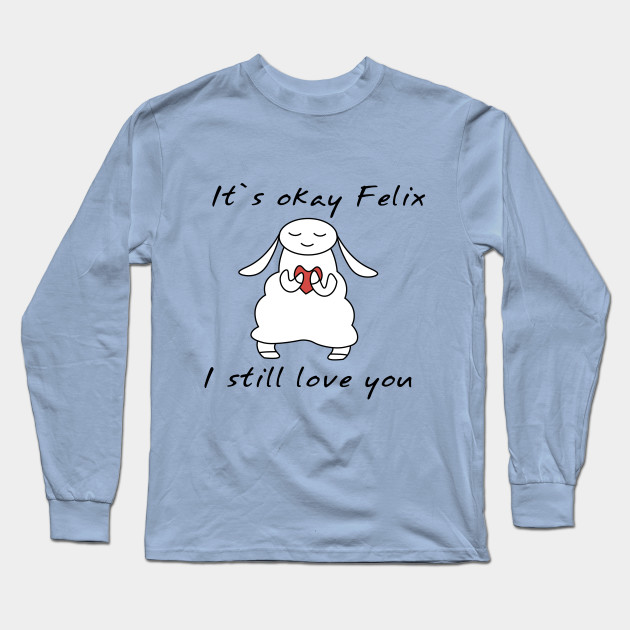 water sheep pewdiepie jeb felix long sleeve t shirt 7718 - PewDiePie Merch