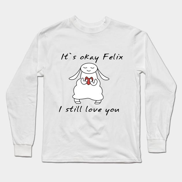 water sheep pewdiepie jeb felix long sleeve t shirt 8883 - PewDiePie Merch