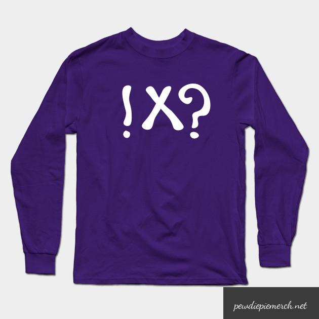 what meme t shirt pewdiepie long sleeve t shirt 5277 - PewDiePie Merch