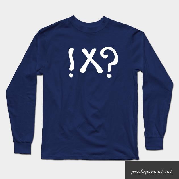 what meme t shirt pewdiepie long sleeve t shirt 6693 - PewDiePie Merch